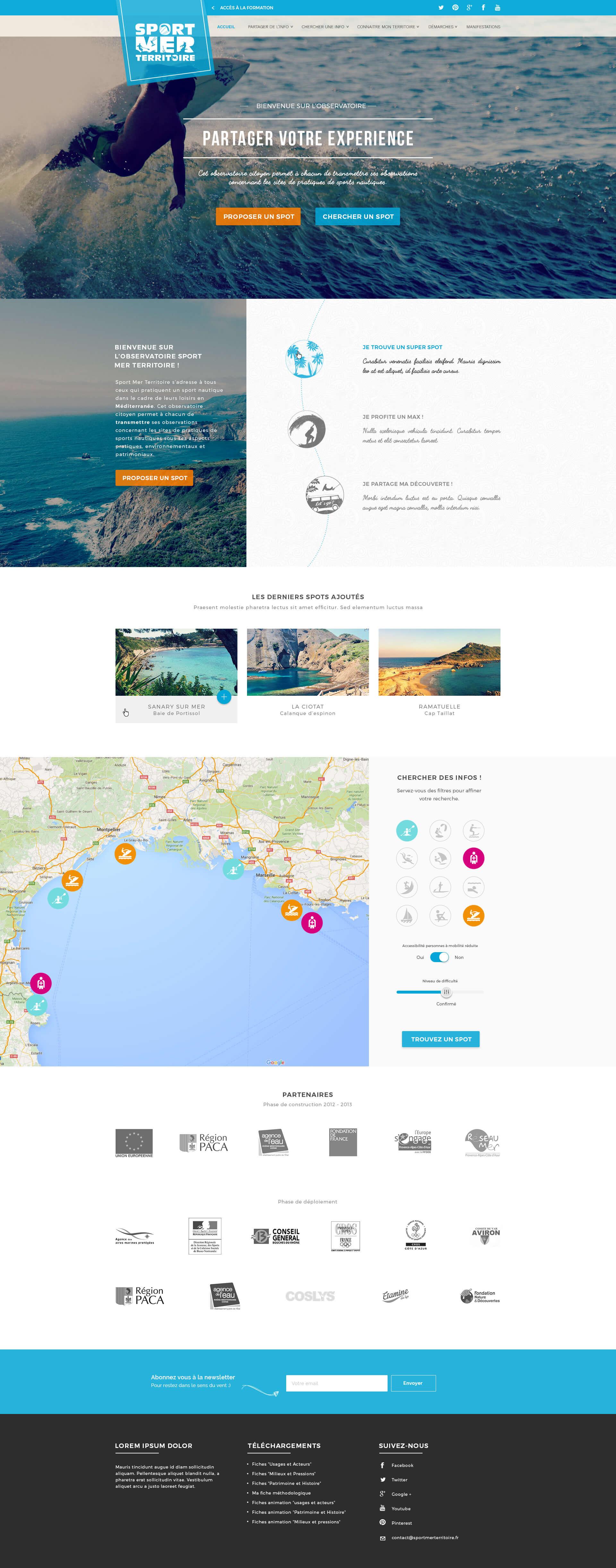 Page d'accueil Observatoire