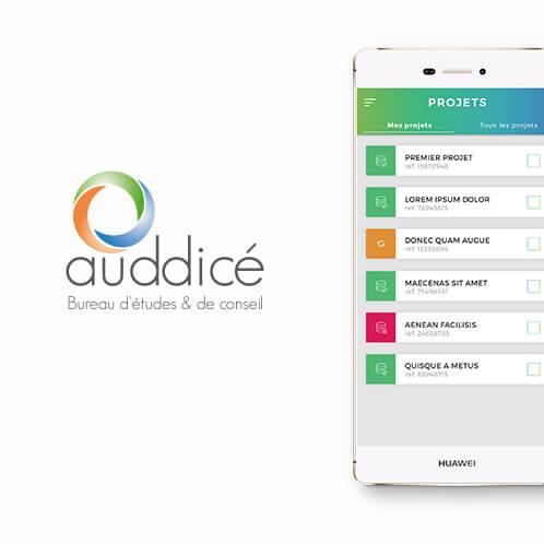 Auddicé application mobile