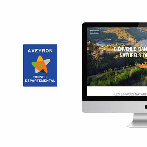 aveyron nature web design appplication design