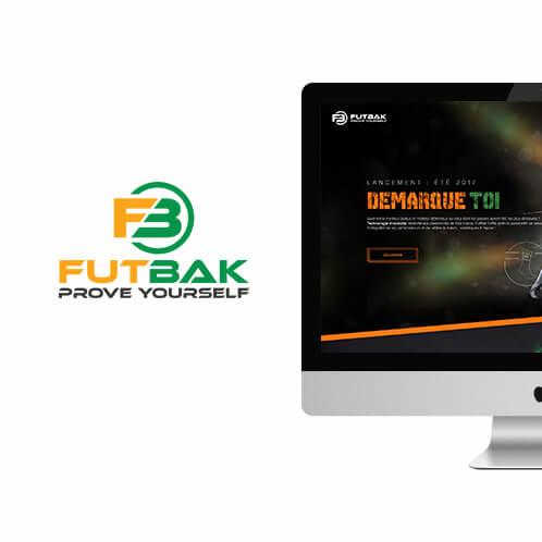 futbak application mobile web design